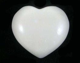 Agaat hart wit