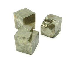 Set 3 Pyriet kubussen 56 gram