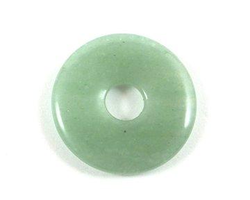 Donut groene Aventurijn