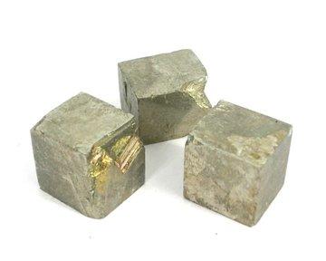 Set 3 Pyriet kubussen 39 gram