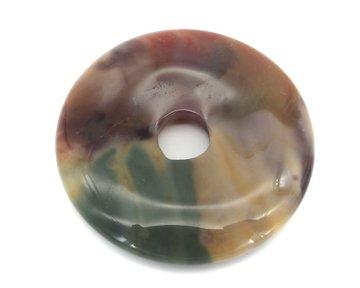 Donut bonte Jaspis 4 cm
