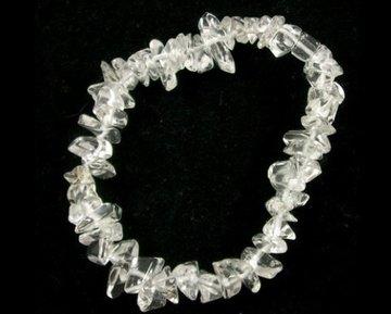 Kinder splitarmbandje Bergkristal