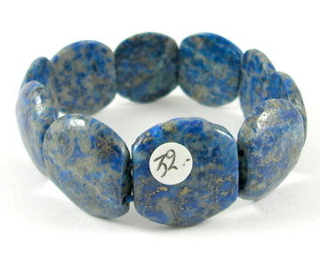 Armband Lapis Lazuli barok XL