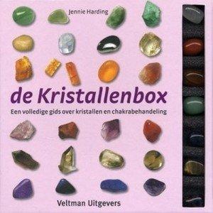 De Kristallenbox boekje + 7 edelstenen