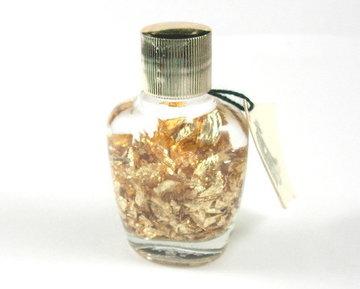 Flesje bladgoud