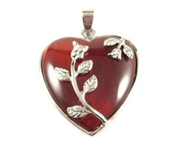 Carneool hart hanger