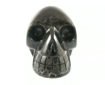 Kristallen schedel Obsidiaan 1,27 kg