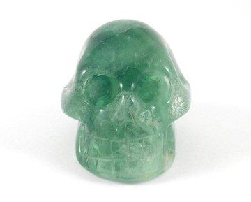 Kristallen schedel fluoriet 180 gram
