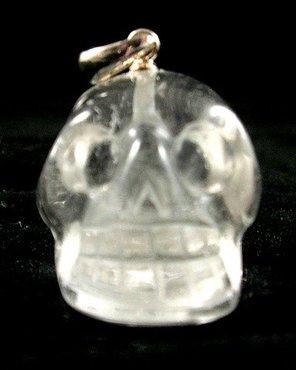 Kristallen schedelhanger Bergkristal 11 gram