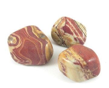 Mookaïet knuffelsteen 30-40 gram
