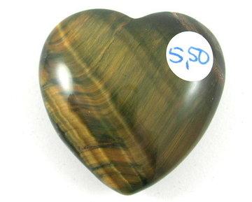 Tijgeroog hart (mini)