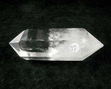 Dubbeleinder van Bergkristal 92 gram