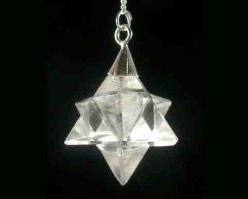 Pendel Merkaba Bergkristal