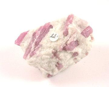 Ruwe roze Toermalijn 160 gram