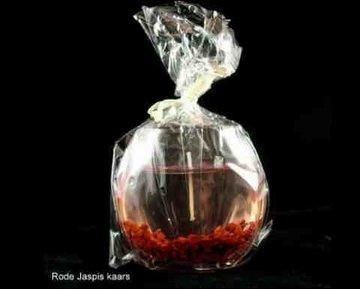 Gelkaars met rode Jaspis groot