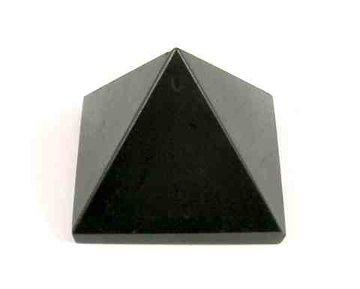 Piramide zwarte Toermalijn Handgeslepen