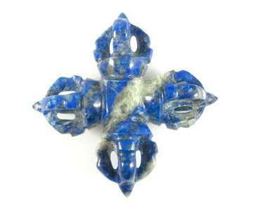 Edelstenen Viswa Vajra Lapis Lazuli 90 gram 8 x 2,7 cm