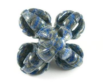 Axis Mundi 3D Vajra Lapis Lazuli 891 gram