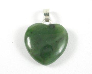Jade hanger hartje