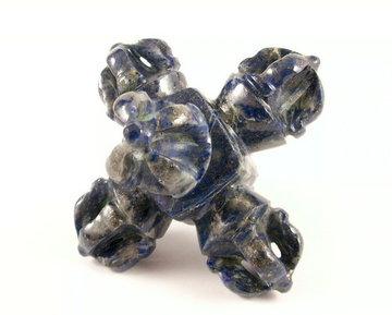Axis Mundi 3D Vajra Lapis Lazuli 126 gram