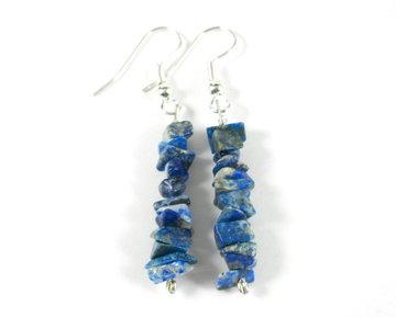 Oorhangers Lapis Lazuli
