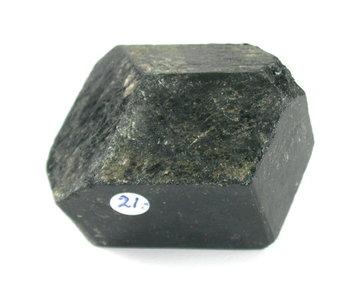 Zwarte Toermalijn ruw 205 gram