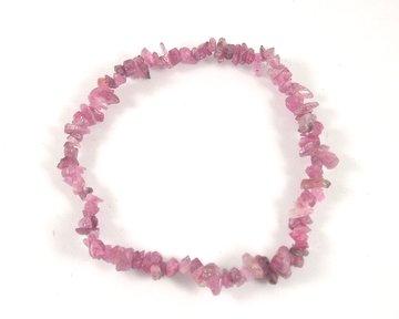 Splitarmband Toermalijn roze