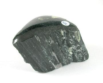 Zwarte Toermalijn ruw 240 gram