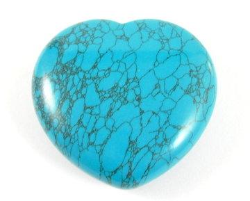 Howliet hart (blauw)