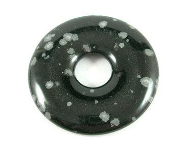 Donut Sneeuwvlokobsidiaan 3 cm