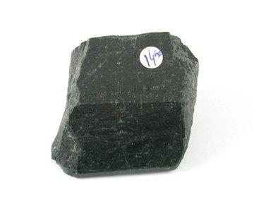 Zwarte Toermalijn ruw 141 gram