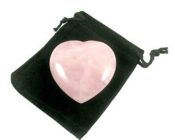 Rozenkwarts hart 5 cm