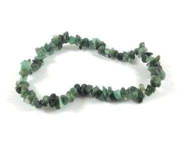 Splitarmband Smaragd