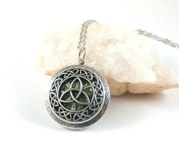 Lange Keltische aroma ketting (nog 2 stuks)