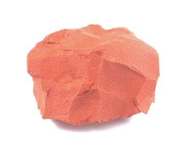 Ruwe rode Jaspis 310 gram