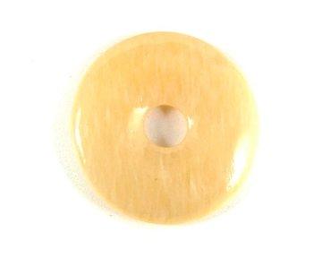 Donut gele Calciet 3 cm