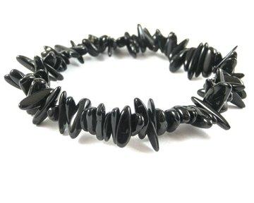 Splitarmband Zwarte Toermalijn (zeer mooi)