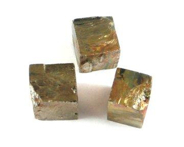 Set 3 Pyriet kubussen 35 gram