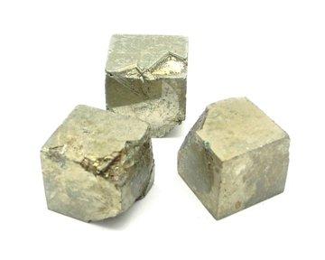 Set 3 Pyriet kubussen 38 gram