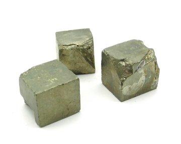 Set 3 Pyriet kubussen 42 gram