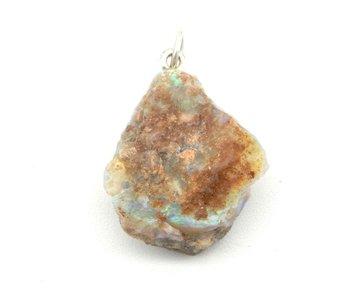 Ruwe Boulder Opaal hanger (Australië)
