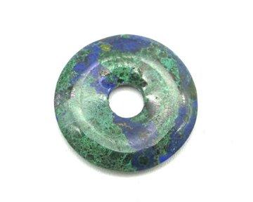 Donut Malachiet Azuriet 2 cm