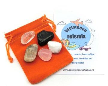 Edelstenen Reismix (de EHBO kit voor onderweg)