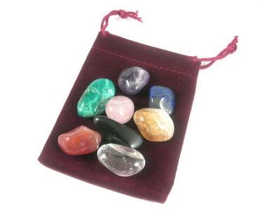 healing mix 8 essential crystals