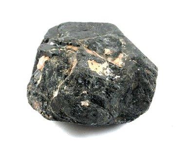 Zwarte Toermalijn ruw 210 gram