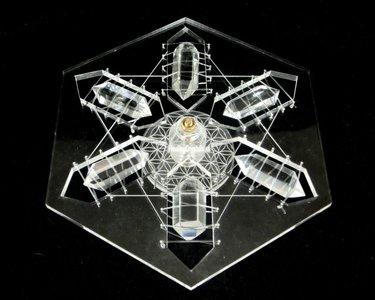 mandala bergkristal