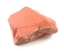 rode jaspis ruwe edelsteen